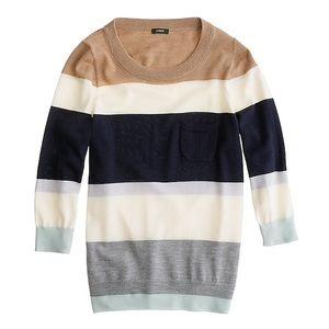 J.Crew Color Block Tippi Sweater size S
